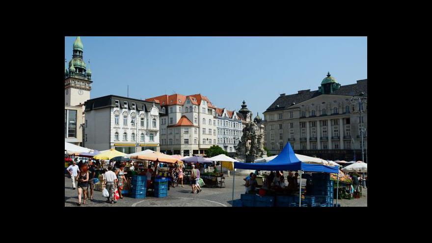 Video Vstup Martiny Tlachové z brněnského Zelného trhu