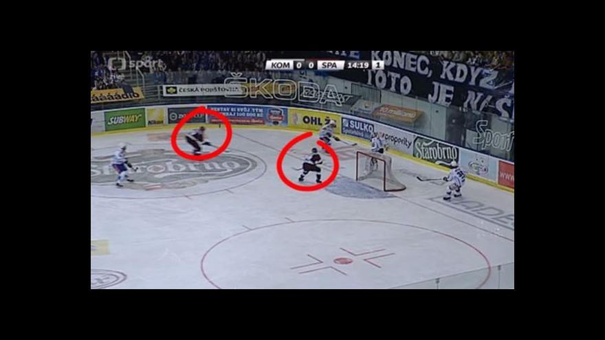 Video Gól v utkání Kometa - Sparta: Buchtele - 0:1 (6. min.)
