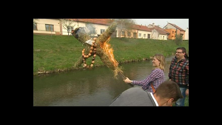 Video NO COMMENT: Vynášení Morany v Kunovicích