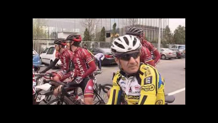 Video V závodu Brno – Velká Bíteš – Brno zvítězil Slovinec Tratnik