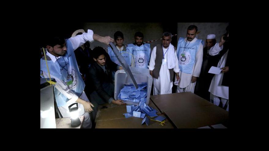 Video Události: Afghánci měli o volby zájem