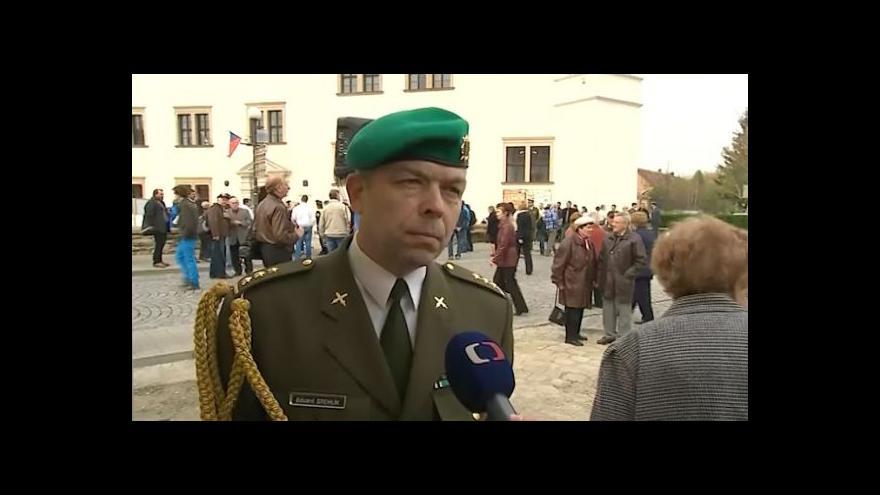 Video Hovoří vojenský historik Eduard Stehlík