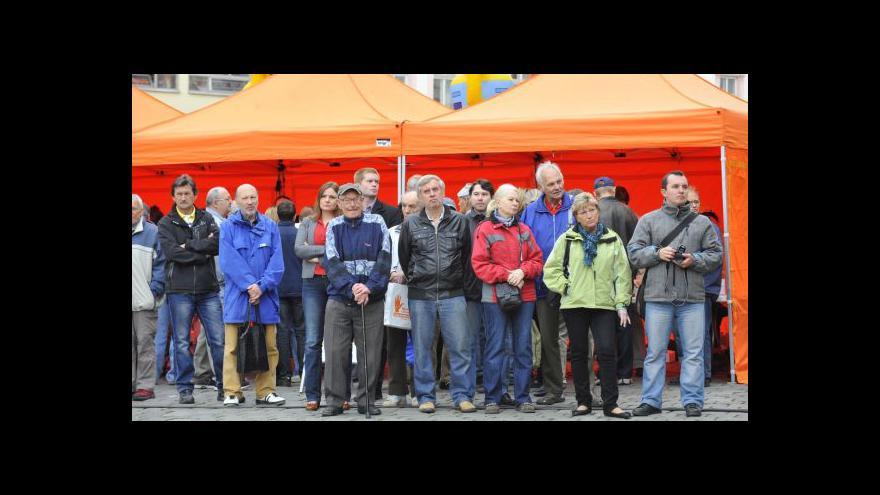 Video Sociální demokraté zahájili kampaň před volbami do EP