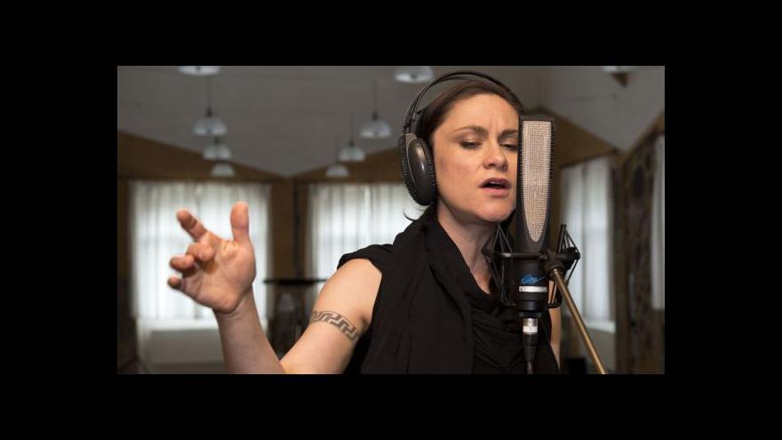 Video Lenka Dusilová natáčí novou desku
