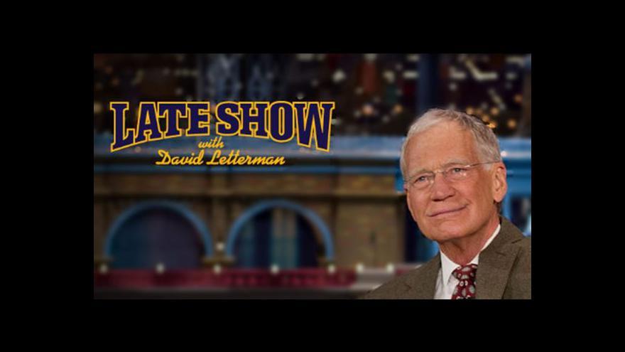 Video David Letterman znovu překvapil své diváky