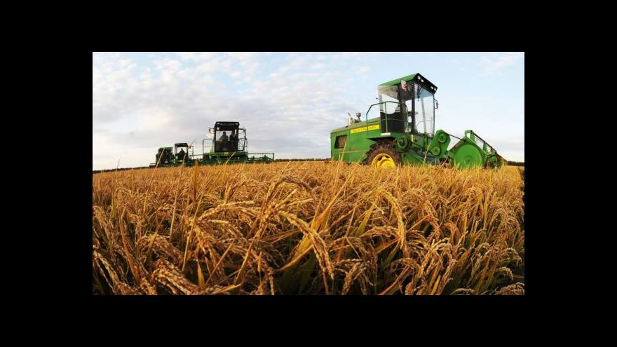 Video Je to o ceně půdy, říká zemědělec Antonín Studený