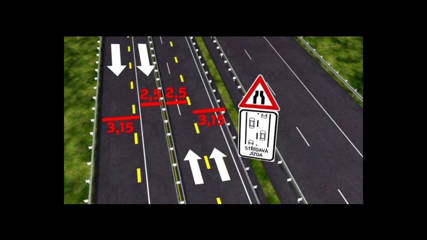 Video Mezi Šternovem a Psáři se uzavře část dálnice D1