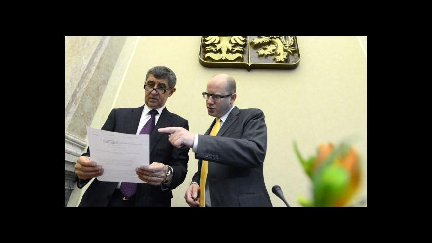 Video Spory ve vládní koalici se vyhrotily