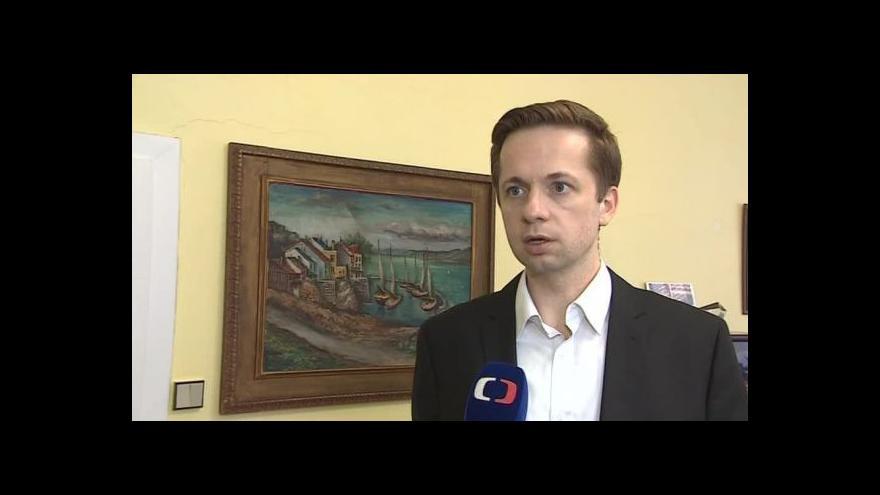 Video Stavbu komentuje náměstek pro dopravu Robert Kotzian (ODS)