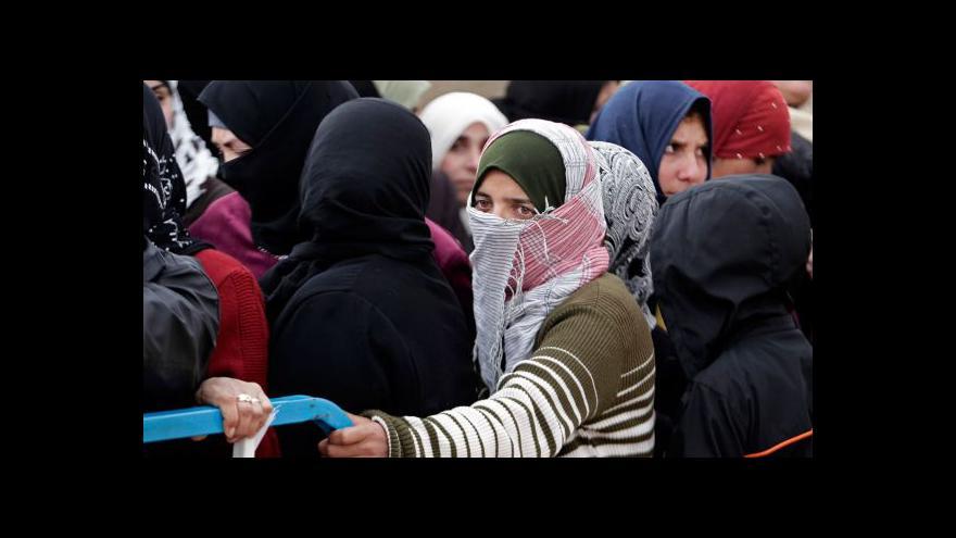Video Libanonu hrozí kolaps, přijal už milion uprchlíků ze Sýrie
