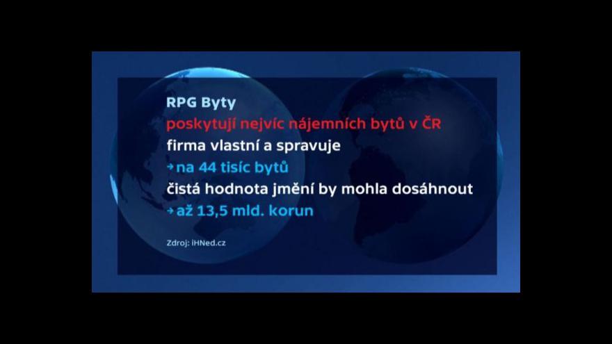 Video Události, komentáře ke vstupu vlastníka bývalých OKD bytů na burzu