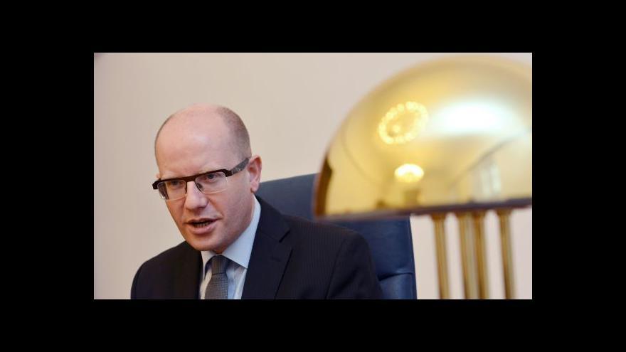 Video Sobotka k OKD: Zatím nikdo obviněn nebyl