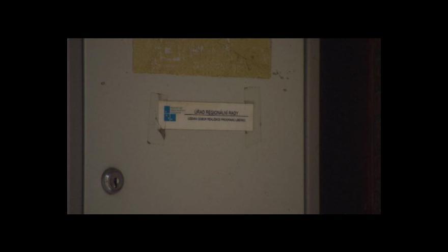 Video Kvůli policejní razii na liberecké pobočce operačního programu Severovýchod hrozí zastavení toku evropských peněz