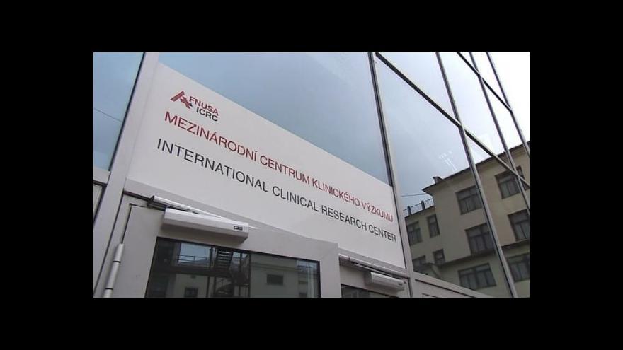 Video Ministr Svatopluk Němeček k problémům v ICRC