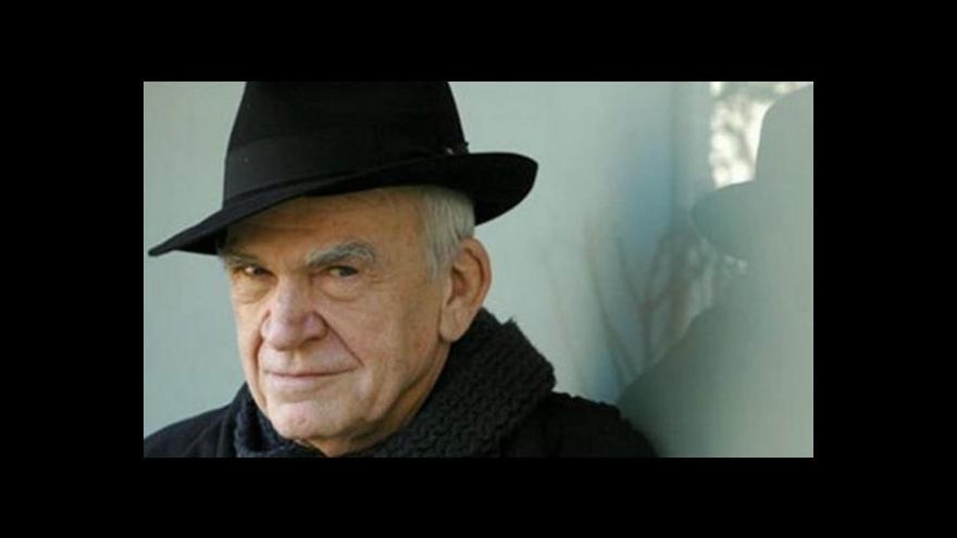 Video 14 let od poslední knihy: Kundera vydává nový román