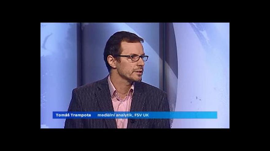Video Trampota: Bulvár proniká i do seriózních médií