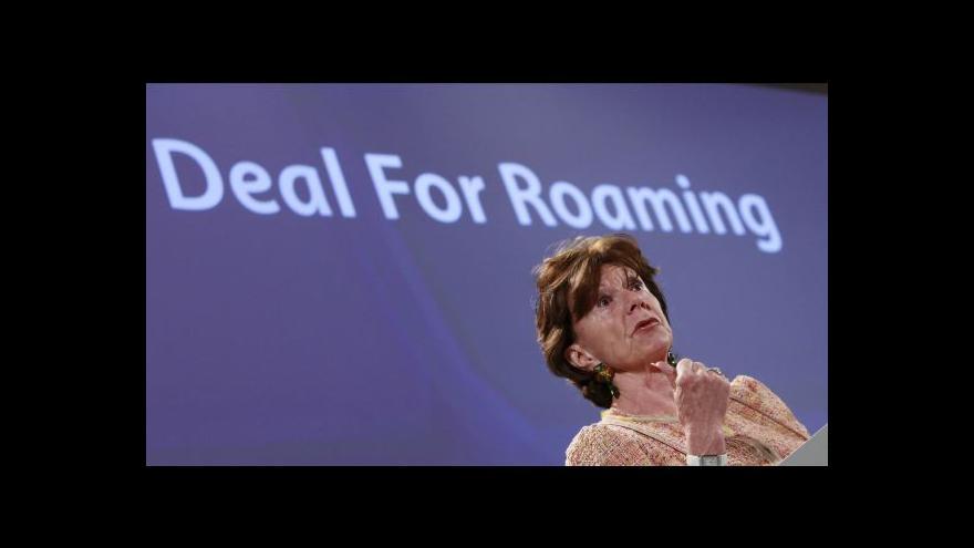 Video Ze zahraničí za stejné ceny jako z Česka - Brusel chce zrušit poplatky za roaming
