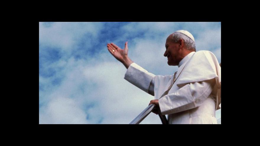 Video Polsko se připravuje na svatořečení Jana Pavla II.
