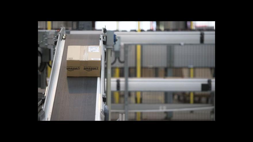 Video Ministr Andrej Babiš o investici Amazonu