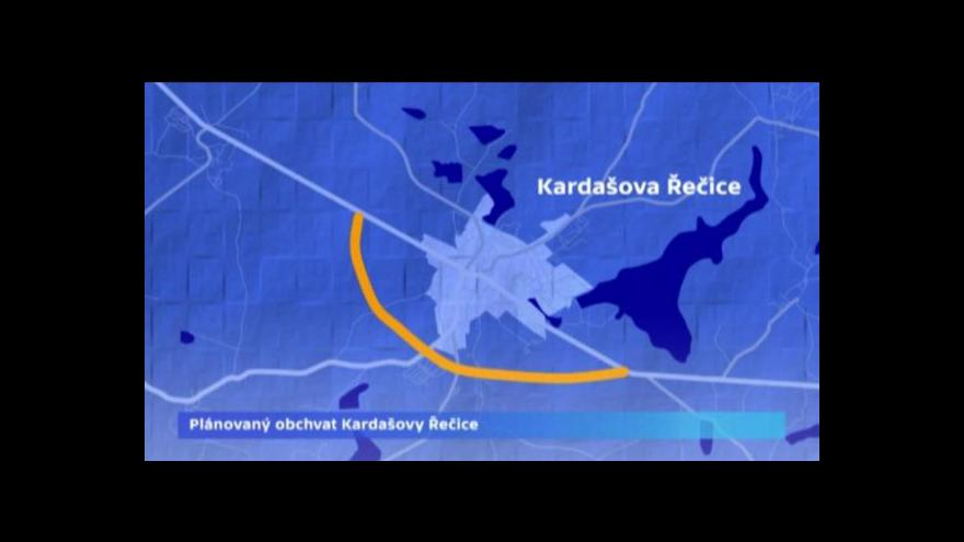 Video Protesty proti kamionům v Kardašově Řečici uspěly jen částečně