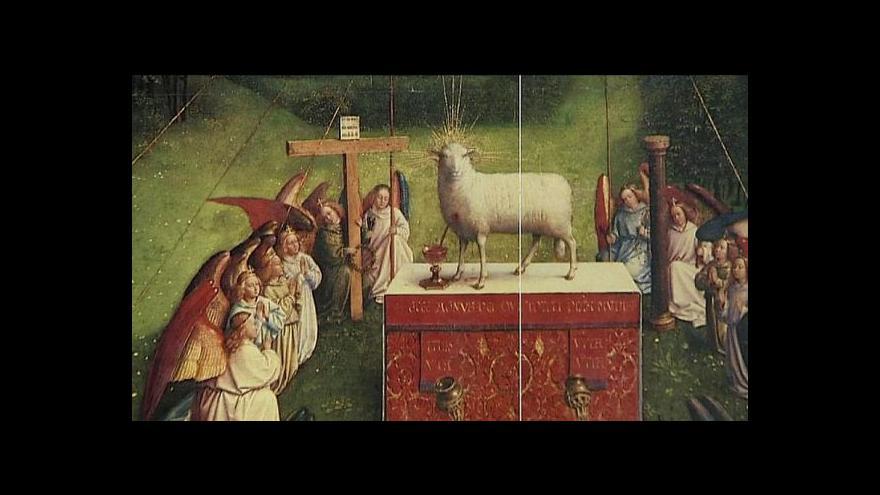 Video Část ztraceného oltáře v Gentu se prý našla