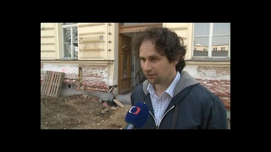 Video O využití historické budovy hovoří mluvčí radnice Zdeněk Dvořák