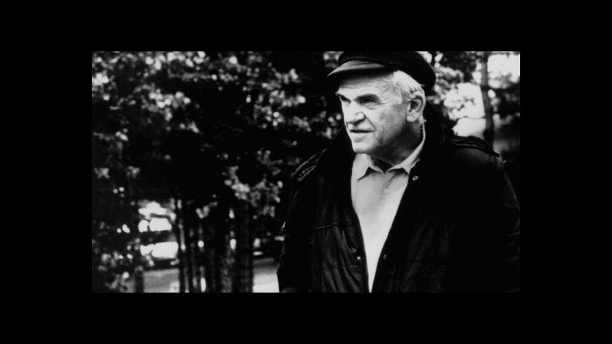 Video Jasná řeč Josefa Chuchmy o Milanu Kunderovi