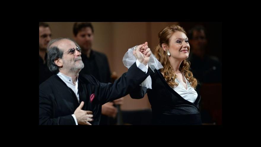 Video Dirigent Marcon: Je to dramatická zpěvačka