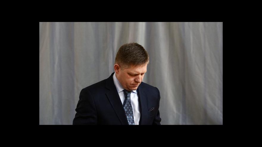 Video Slovenský tisk: Ficova porážka byla zdrcující