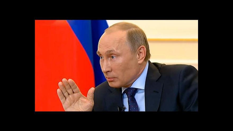 Video Putin jednal s Merkelovou o Ukrajině