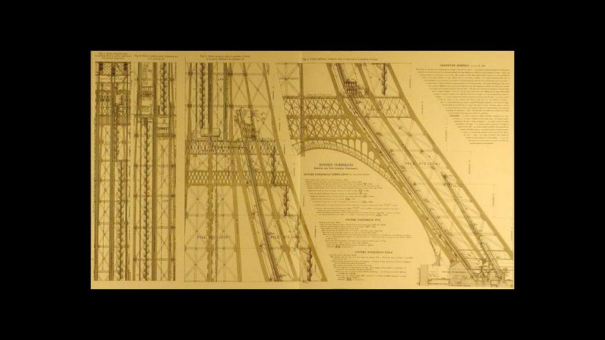 Video Jandáček: Eiffelovka vnesla do architektury poetiku železných konstrukcí