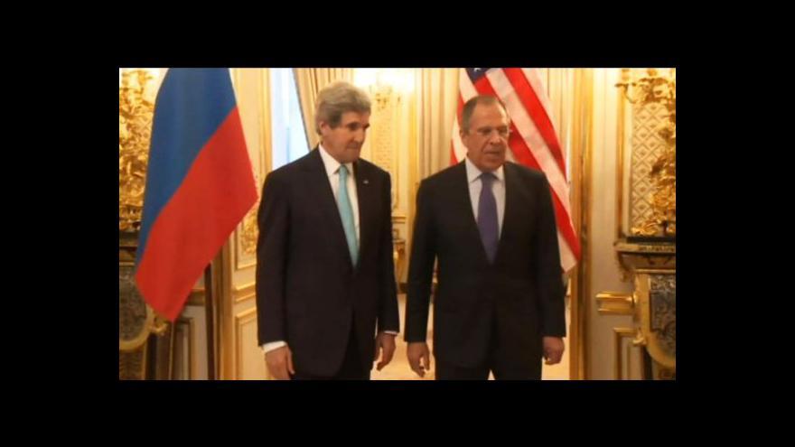 Video USA a Rusko chtějí situaci na Ukrajině řešit diplomatickou cestou
