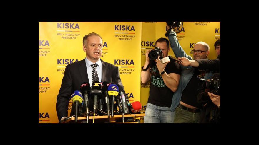 Video Prezidentem Slovenska bude Kiska