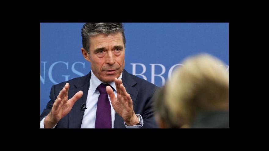 Video Rasmussen exkluzivně pro ČT: Východ Evropy jsme připraveni ubránit