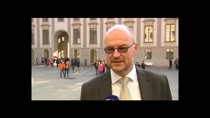 Video Soudci by prý kandidaturu na ÚS přijali