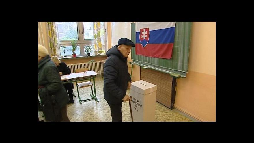 Video Slováci si dnes zvolí prezidenta
