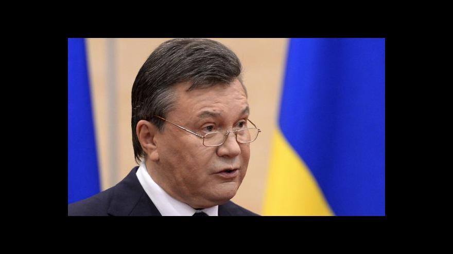 Video Karas: Janukovyč odmítl změny v ukrajinských zákonech