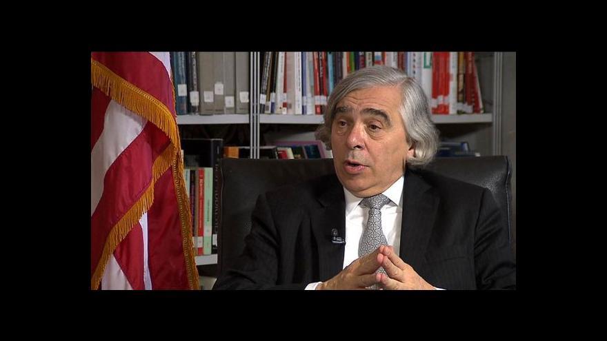Video Moniz: USA nezačnou vyvážet zkapalněný plyn dřív než na konci 2015