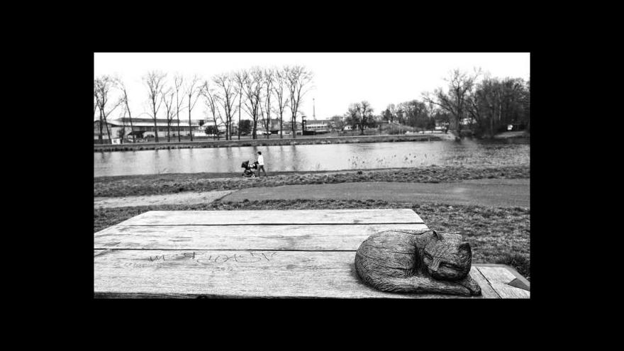 Video Hrabalovo Kersko: Rušit ho při psaní mohly jen kočky