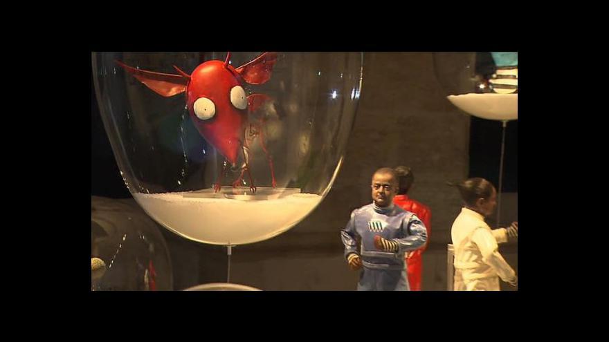 Video Pohled do expozice Tim Burton a jeho svět