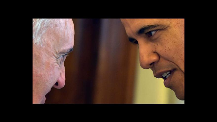 Video Události: Papež František přijal Baracka Obamu