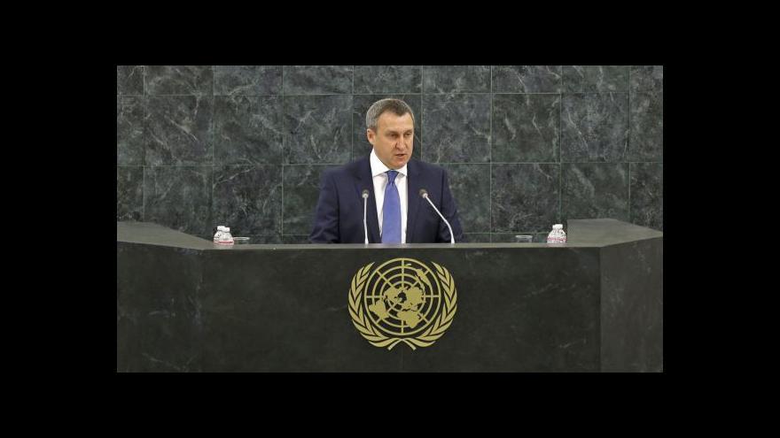 Video Projev Andrije Deščycji na VS OSN