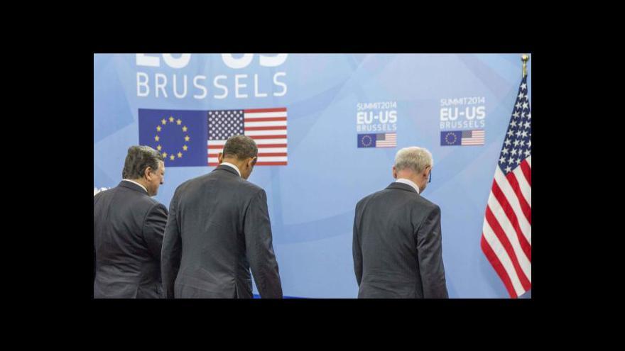 Video Události: Obama jednal v Bruselu o dalším postupu vůči Moskvě