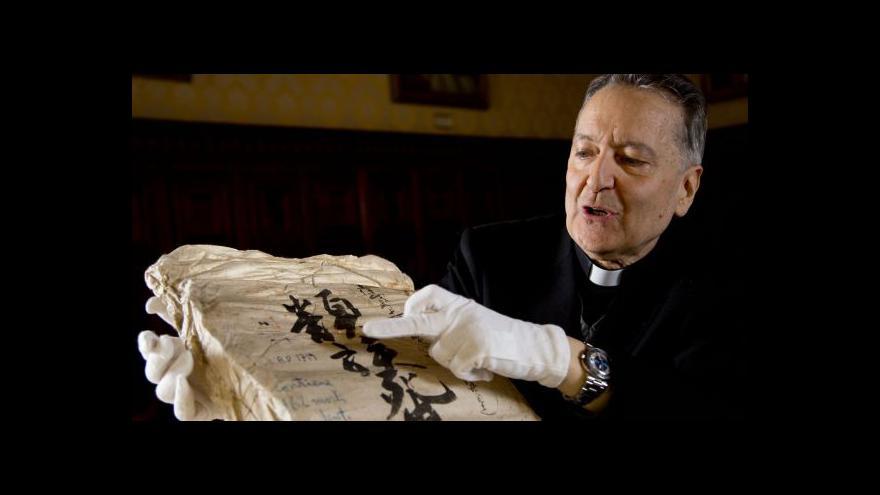 Video Vatikán digitalizuje archivy