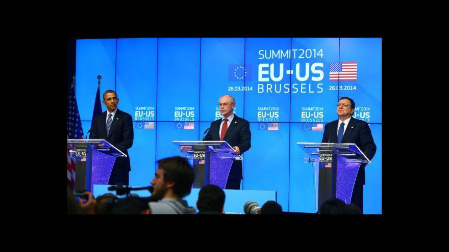 Video Brífink po skončení summitu EU-USA