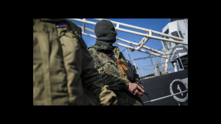 Video Karas: Rusové obsadili poslední základny na Krymu