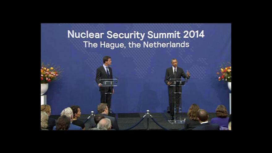 Video Světoví politici jednali v Haagu o krizi na Ukrajině