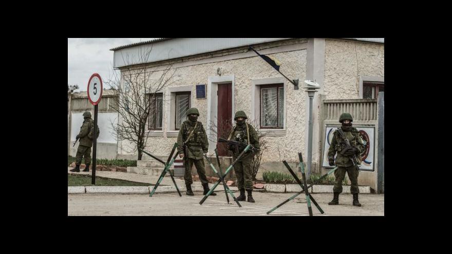 Video Sobotka: Anexe Krymu by neměla vyústit v plošné zbrojení