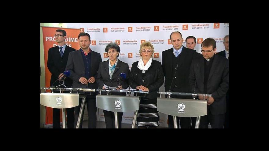 Video Brífink po jednání expertní komise: Církve žádají přechod na politickou úroveň