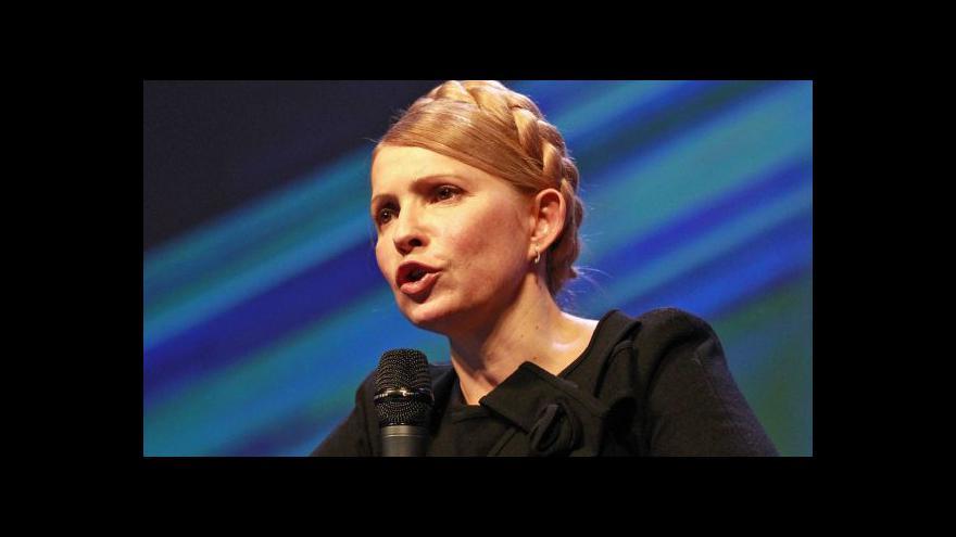 Video Tymošenková se ostře pustila do Ruska - v odposlechnutém hovoru